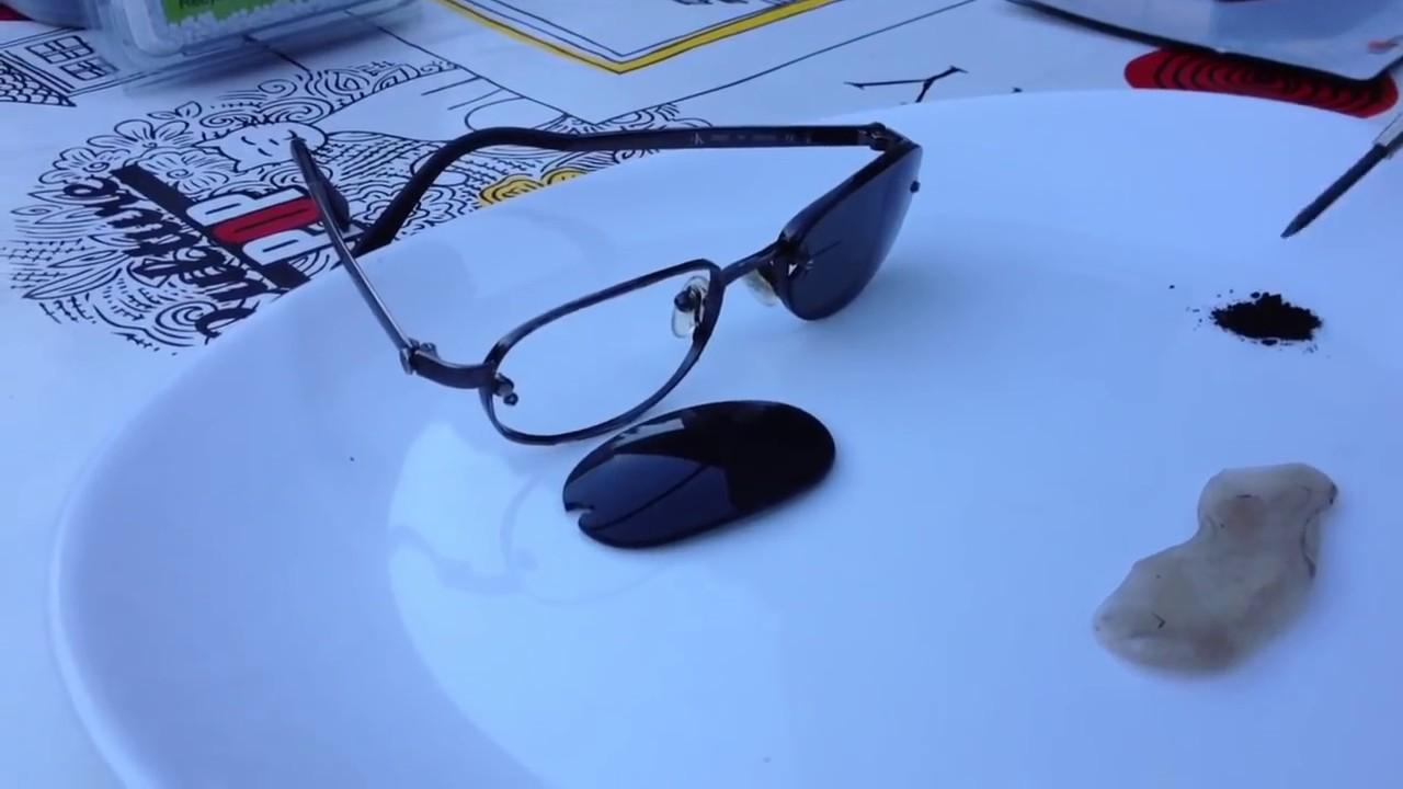 Réparer rapidement une paire de lunette  - YouTube e8981b16daa0