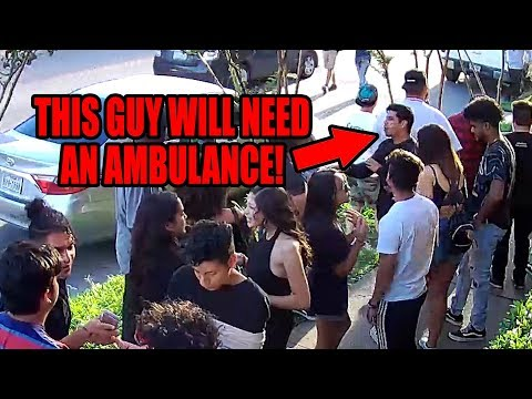 Guy has medical emergency, crowd ignores him