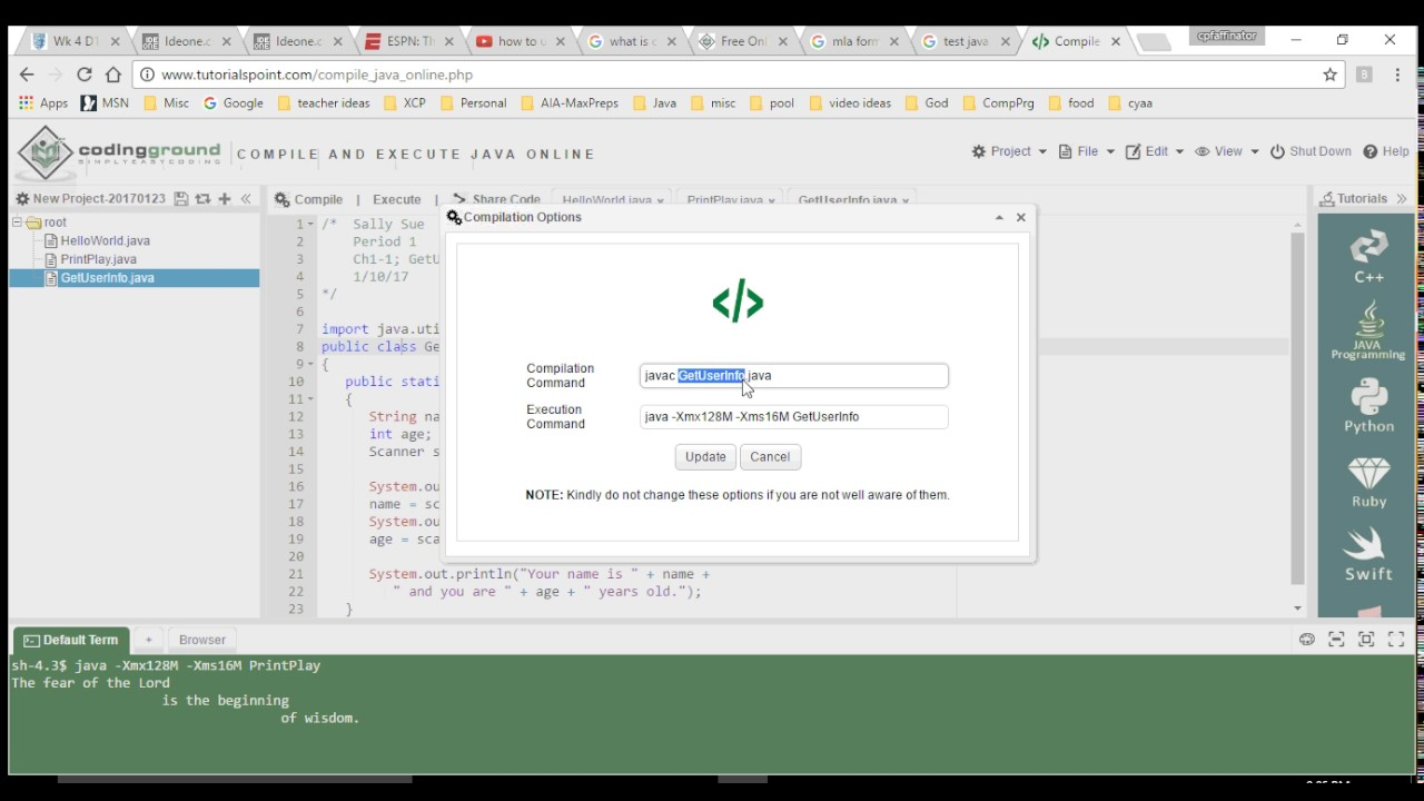 how to make java program run without java