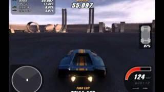 Crashday Gameplay high Settings On Fx5500 *HD*