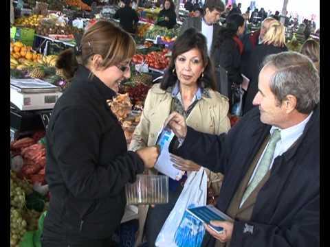 Visita al mercat del Barris Nord