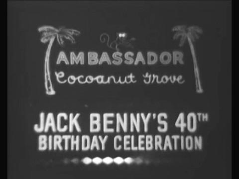 Jack Benny's 40th Birthday Celebration (Shower of Stars, Feb 13, 1958)