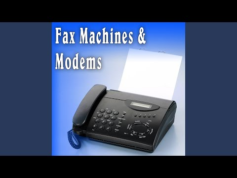 Fax Machine Modem Sound