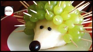 Фруктовый десерт / ежик / идеи для стола / Фуд Арт / Food Art