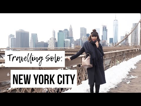 NEW YORK CITY VLOG | A Girls Guide To Travelling Solo In New York | Frock Me I'm Famous