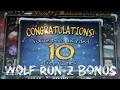 Wolf Run 2 [ARCTIC FREE GAMES BONUS] VLT Slot