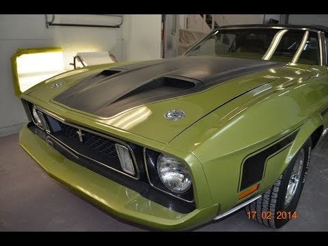 1973 Ford Mustang Convertible for sale auto appraisal Ann Arbor Jackson Mi. pre-purchase inspection