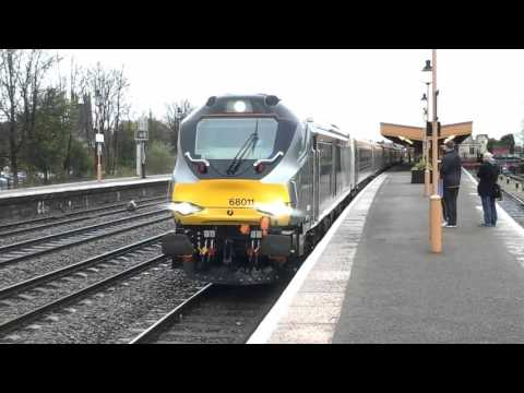Trains at: Leamington Spa, CML, 18/11/15