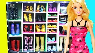 How To Make A Walk In Shoe Closet- Doll Crafts