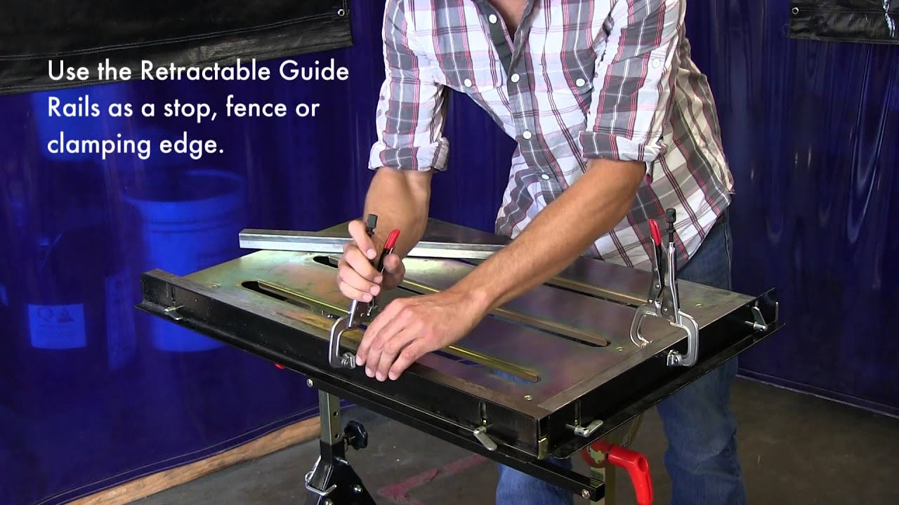 The Nomad Economy Welding Table Helps You Work Safely And Efficiently