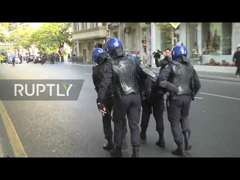 Azerbaijan: Scores detained at unauthorised rally in Baku