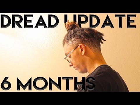 Dreadlock Update: 6 Months (High Top Fade)