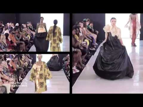 Virgin Bohème from Abidjan Cote Divoire at at PLITZS New York City Fashion Week