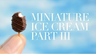 ICE CREAM III • miniature • polymer clay tutorial