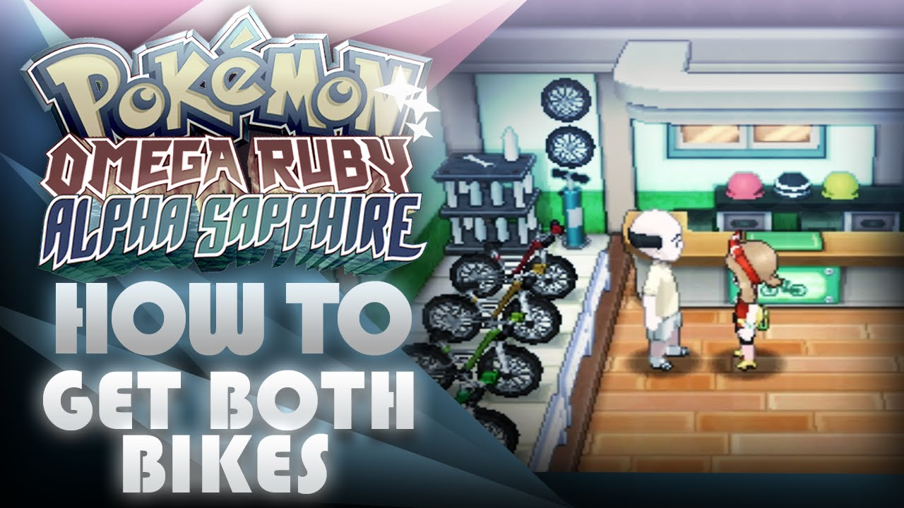 Pokemon Oras How To Get Both Mach And Acro Bikes Mootypwns