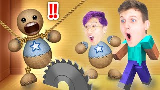 THE BUDDY vs. LANKYBOX! (Can We KICK THE BUDDY?! HILARIOUS IPAD APP GAME)
