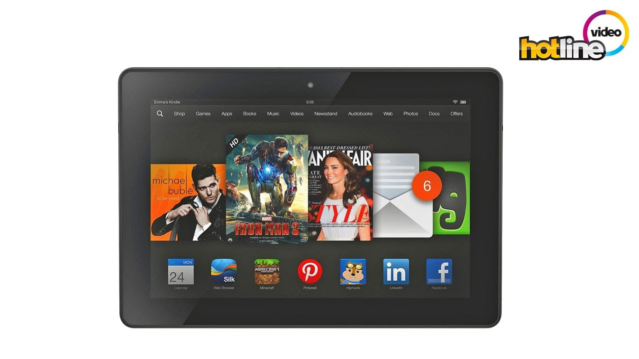 Обзор планшета Amazon Kindle Fire HDX 8.9