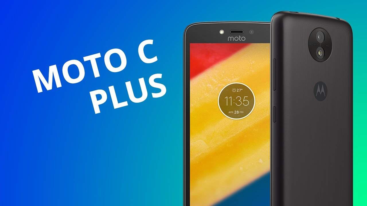 3842f66b2 Motorola Moto C Plus  Análise   Review  - YouTube