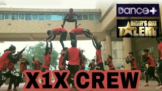 X1X Crew Crazy Performance at Battleground by IBF | Thakur College of E&T