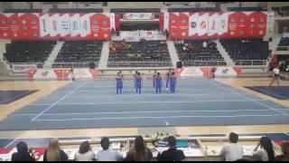 Ahi Evran Üniversitesi akrobatik cimnastik takımı gösterisi koçfest 2017
