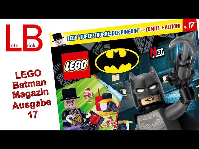 LEGO® Batman - Magazin Ausgabe 17 - mit Pinguin und Pinguin