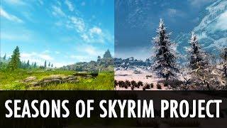 Skyrim Mod: Seasons of Skyrim Project