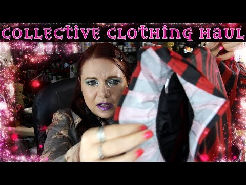Collective Clothing Haul And Try On - Curvy Alternative Clothing