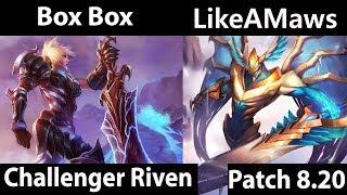 [ Box Box ] Riven vs Aatrox [ LikeAMaws ] Top - Box Box Riven Stream