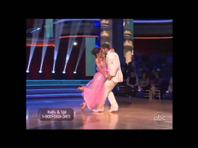 Pretty in Pink Team Kelly Monaco Quick Step ~ 10-1-12 ~ DWTS