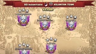 Power Of BD Indomitable And We Just Showed you Our Great Attack | Fair Play Clan War  Clash Of Clans