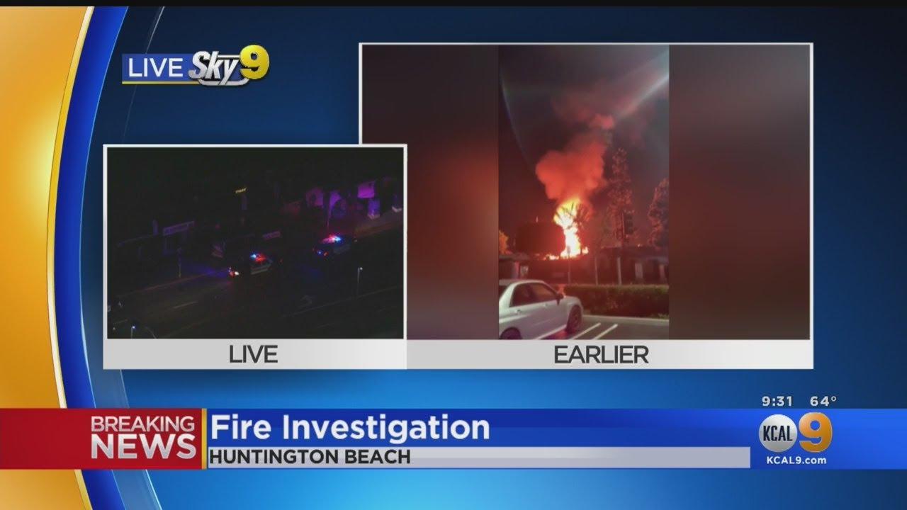 Transformer Explosion At Huntington Beach Oktoberfect Captured On Tape