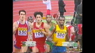 Antonio Reina Eliminatorias Cto  Mundo Budapest P C  800 m l