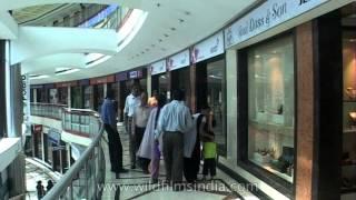Posh shopping mall: Ansal Plaza