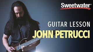 John Petrucci Guitar Lesson — 5 Guitar Tips