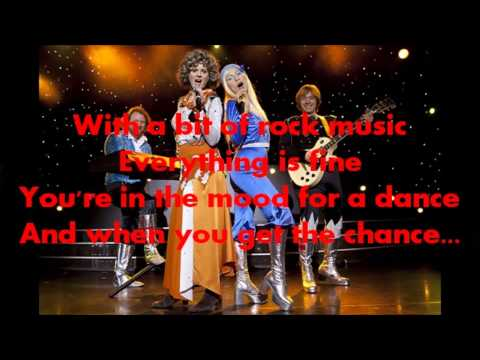 Dancing Queen / ABBA - Lyric Video - HD 1080p