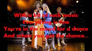 Dancing Queen / ABBA - Lyric Video - HD 1080p