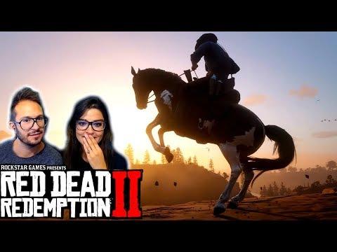 Red Dead Redemption 2 : GAMEPLAY FANTASTIQUE ! NOS RÉACTIONS