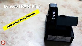 Lenovo HW01 Plus Unboxing amp Review Is it the best SMART BAND under 3000 -