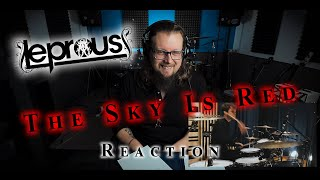 DRUMMER REACTS to LEPROUS - The Sky Is Red (Drum Playthrough by Baard Kolstad) | (REACTION 2020)