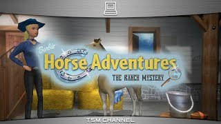 Barbie Horse Adventures : The Ranch Mystery (part 1) (Horse Game) (Suomen Kieli)