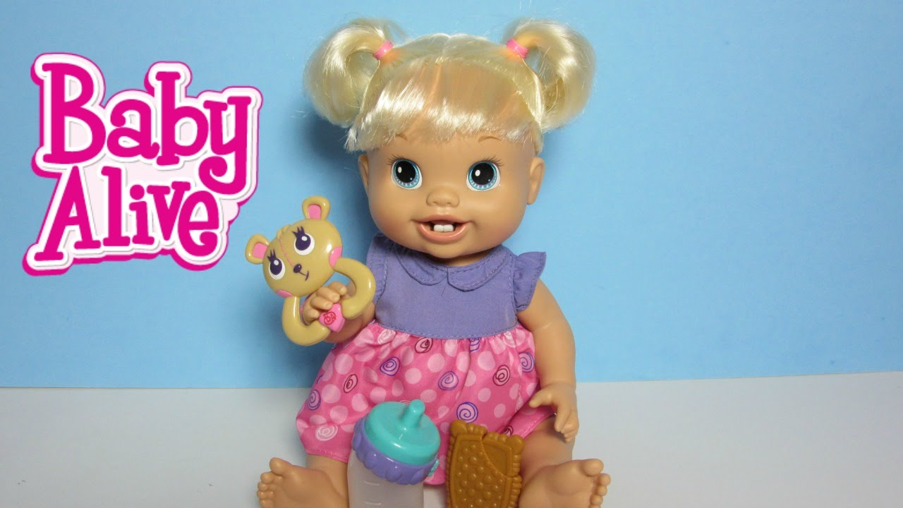 BABY ALIVE Doll Baby's New Teeth with Brushy Brushy Baby ...  |Baby Alive New Teeth