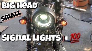 Head Light With Signal Light Follow Me https://www.instagram.com/dwight19xx/