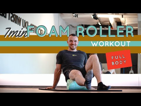 5-Minute Warmup Having a Foam Roller