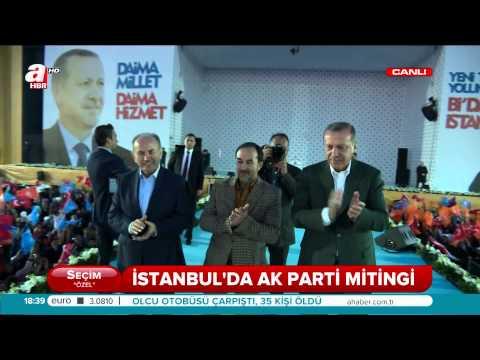 Arslanbek Sultanbekov AK Parti İstanbul Yenikapı Mitinginde