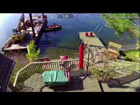 Dave's Cottage Dock Construction