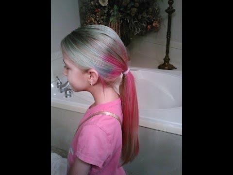 dye multi colored hair