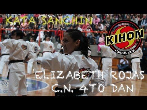 Kata Sanchin - Sensei Elizabeth C.N. 4to Dan