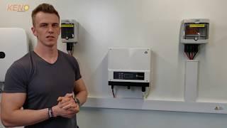 W filmie pokazujemy jak w łatwy sposób przeprowadzić konfigurację połączenia falownika Goodwe z internetową platformą Sems Portal, służącą do ...