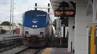 Railfanning at the Orlando Amtrak Station
