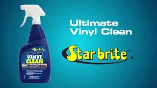 Keep Your Vinyl Clean with Star Brite Vinyl Cleaner